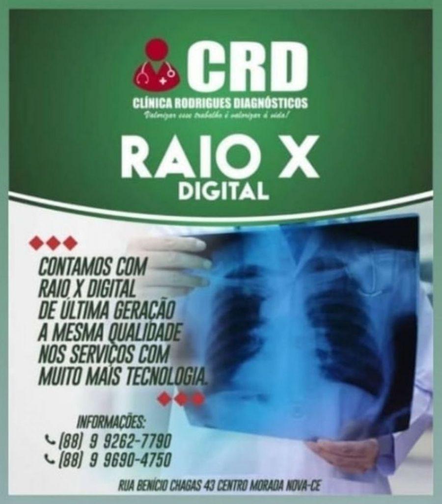 Clínica Rodrigues Diagnósticos- Exames, Raio-x e Consultas.