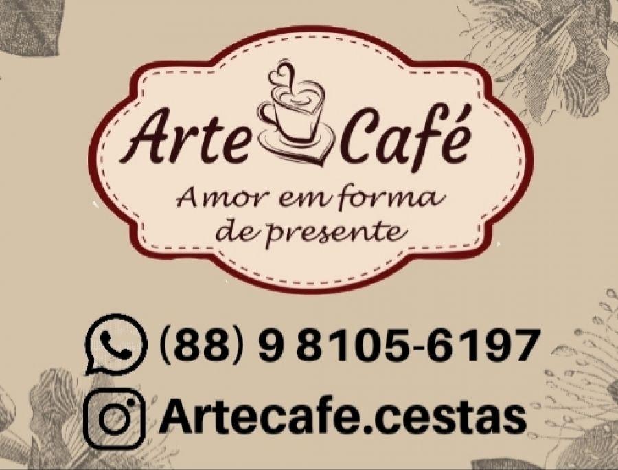 Arte & café - Cestas para café da manhã personalizada