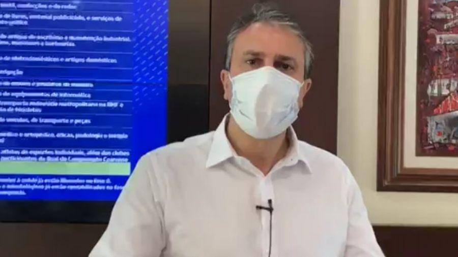 Camilo: vamos recomendar que municípios do Interior tenham lockdown