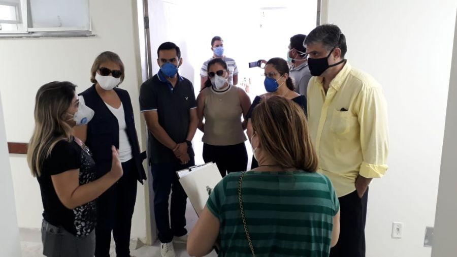 Morada Nova recebeu a visita da secretaria executiva de Atenção à Saúde e Desenvolvimento Regional do Estado do Ceará