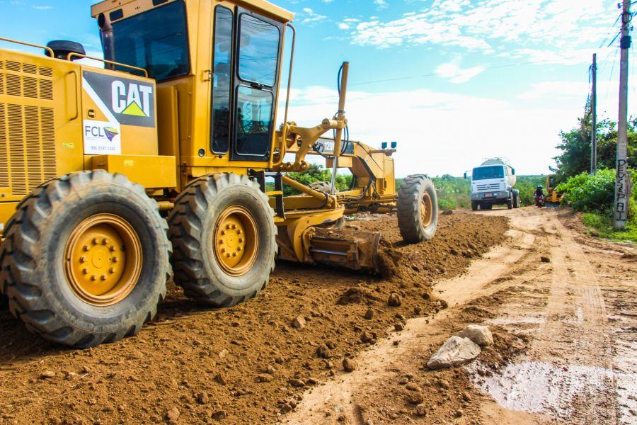 Recuperando as estradas vicinais: Sede do município a Juazeiro da Quintina