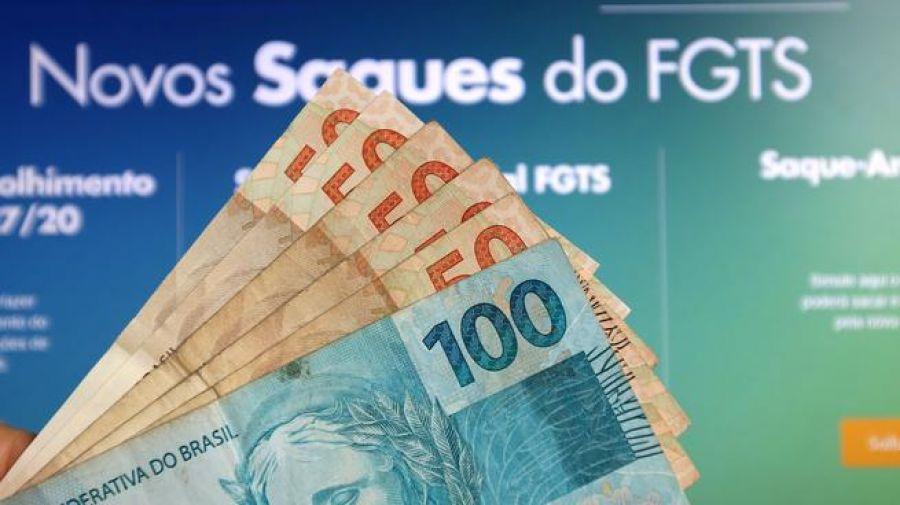 Pagamento emergencial do FGTS de R$ 1.045 começa hoje para nascidos em janeiro