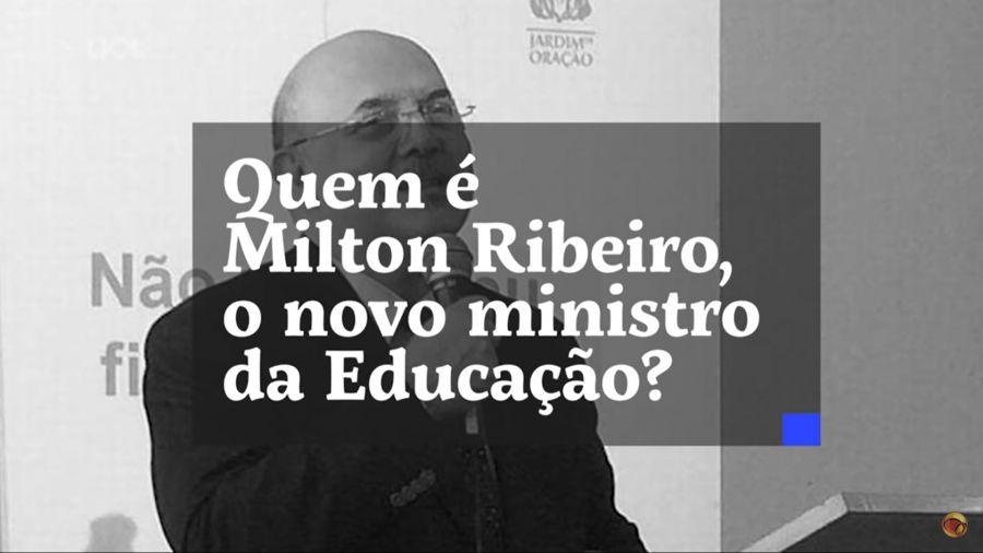 Bolsonaro anuncia professor e pastor Milton Ribeiro como novo ministro da Educação