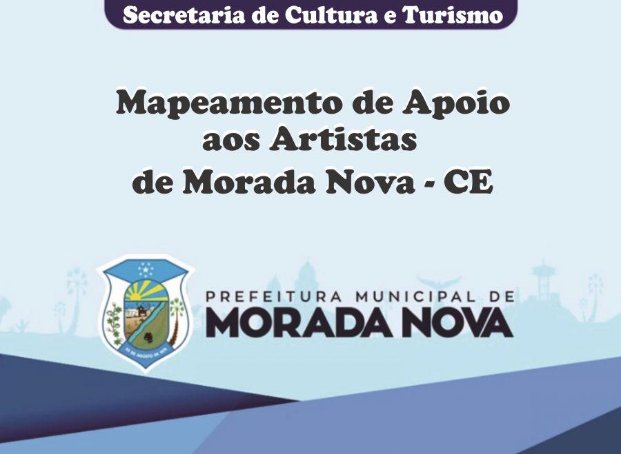 Mapeamento de Apoio aos Artistas de Morada Nova - CE