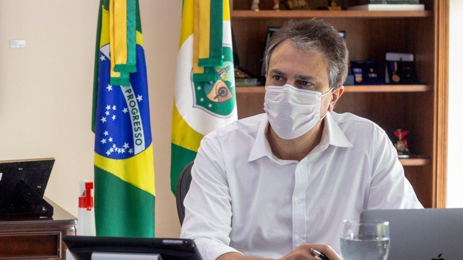 Camilo apela para colaboração da população cearense em ações de combate à Covid-19