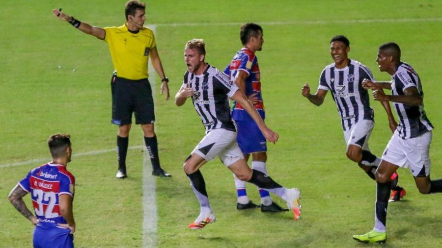 Ceará vence Clássico-Rei e é finalista da Copa do Nordeste