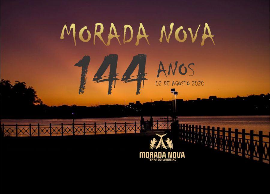 Feliz aniversário, Morada Nova! 144 anos.
