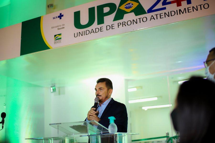 Inauguração da Unidade de Pronto Atendimento-UPA 24h