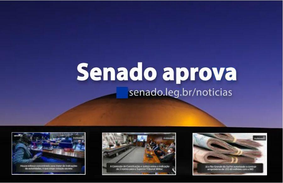Senado Aprova (21/9 a 25/9) — Veja o que o Senado aprovou de mais importante nesta semana