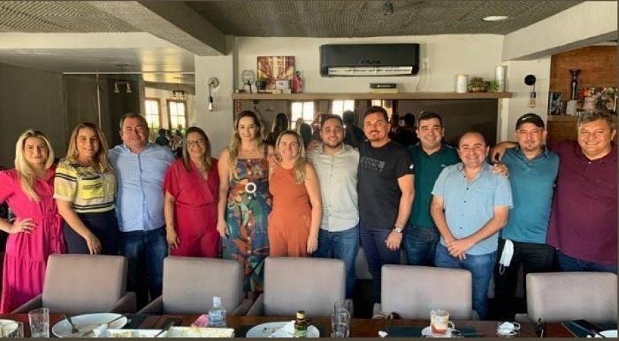 O Prefeito Wanderley Nogueira e o Vice-prefeito Edigar Amaral se reuniram com os vereadores eleitos para o quadriênio: 2021 2024.