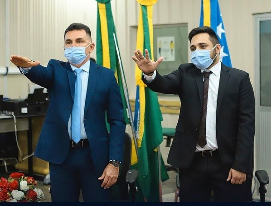 Prefeito reeleito Wanderley Nogueira é empossado para o quadriênio 2021 a 2024