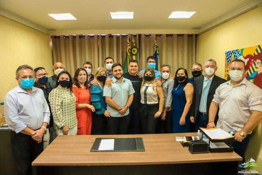 Solenidade de posse dos secretários municipais de Morada Nova