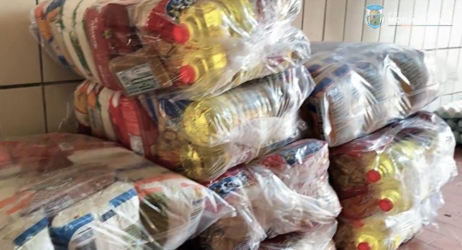 Distribuição da 2ª cesta básica aos pescadores do município
