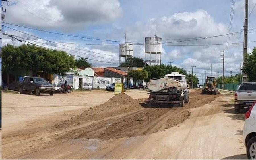 Recuperação e manutenção da Avenida Santos Dumont