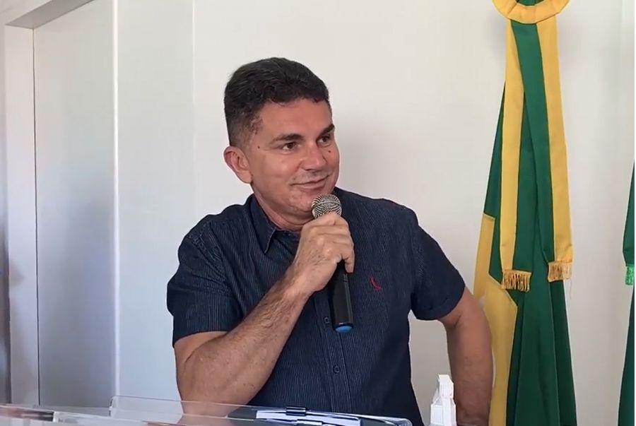 Ordem de Serviço para a construção da sede do setor tributário da prefeitura de Morada Nova