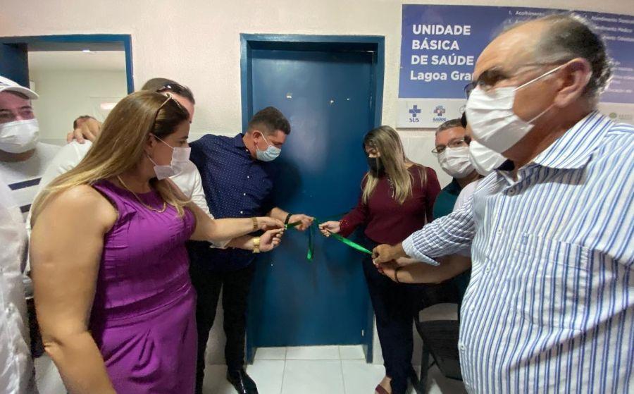 Consultório odontológico à Unidade Básica de Saúde do distrito de Lagoa Grande